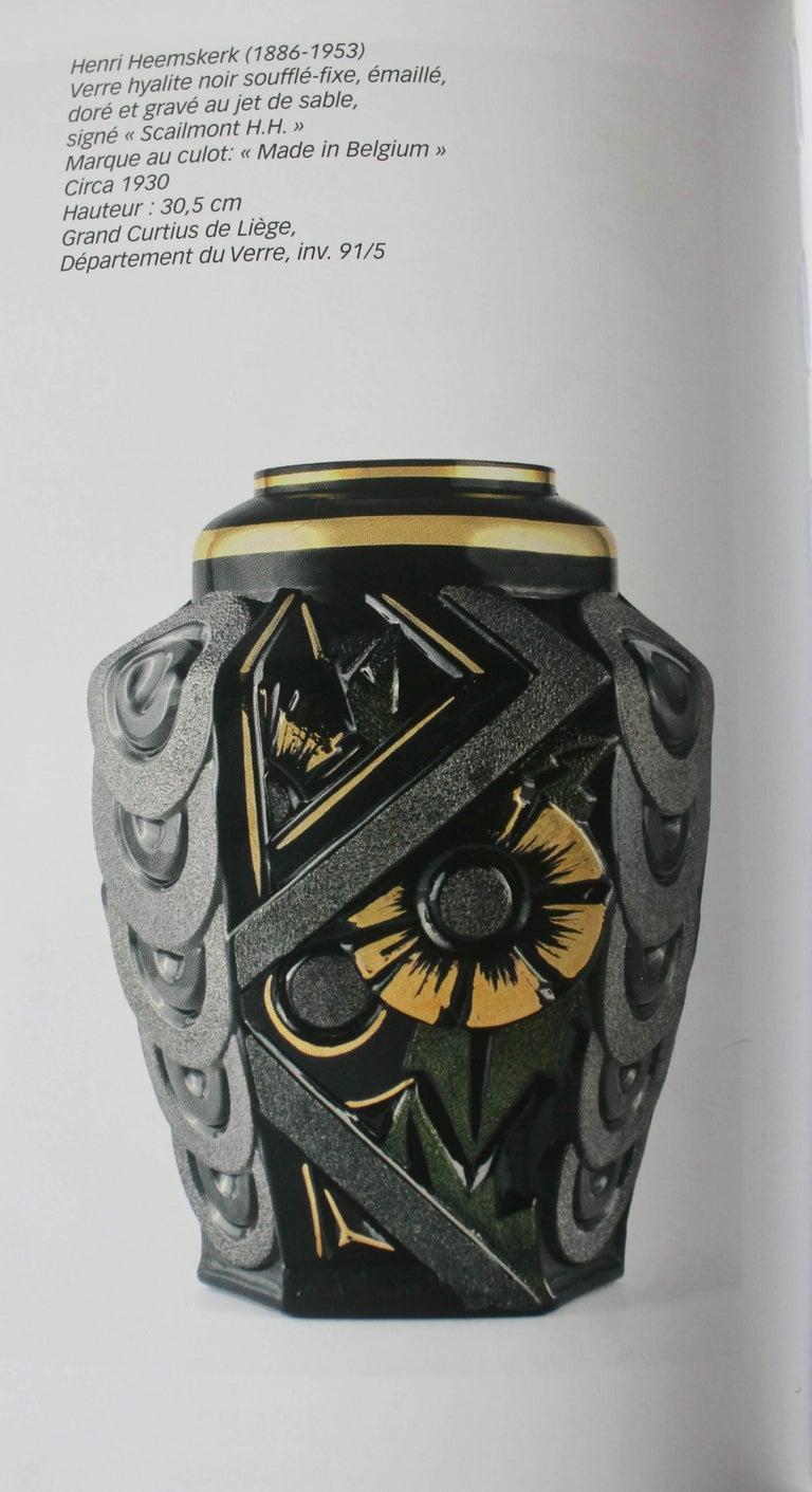 Scailmont Art GlassVase Designed by Henri Heemskerk, Made in Belgium For Sale 1
