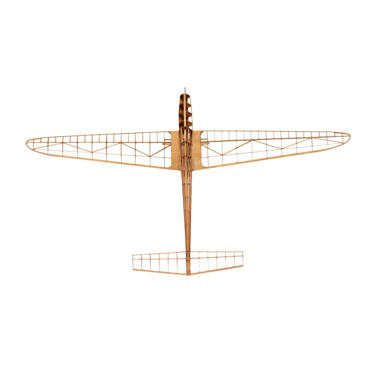 French Scale Model of the Structure of a Passenger Airplane For Sale