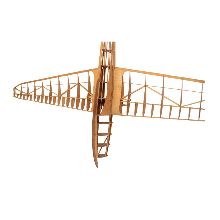 Mid-20th Century Scale Model of the Structure of a Passenger Airplane For Sale