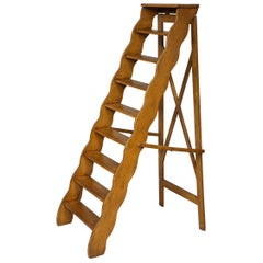 Scalloped Folding Ladder
