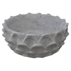 Scalloped Low Bowl