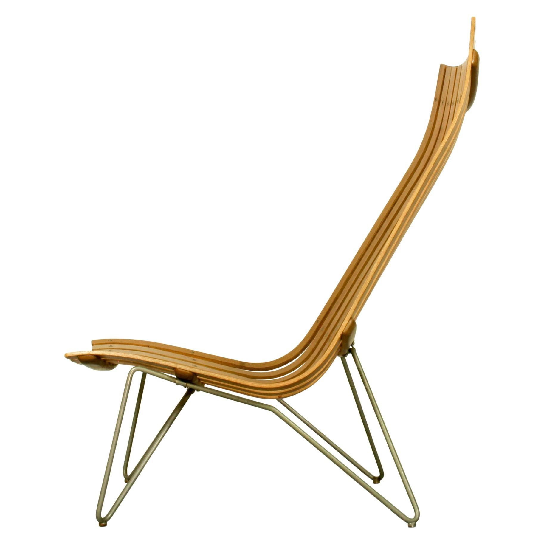 Scandia Lounge Chair by Hans Brattrud for Hove Mobler, 1960s