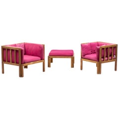 Scandinavian Architectural Living Room Set