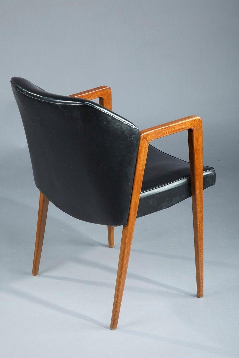 Scandinavian Armchair by Arne Vodder for Sibast, 1950 For Sale 3