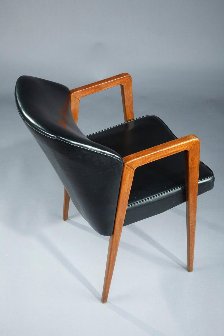 Scandinavian Armchair by Arne Vodder for Sibast, 1950 For Sale 4