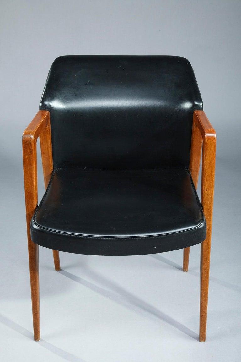 Scandinavian Armchair by Arne Vodder for Sibast, 1950 For Sale 5