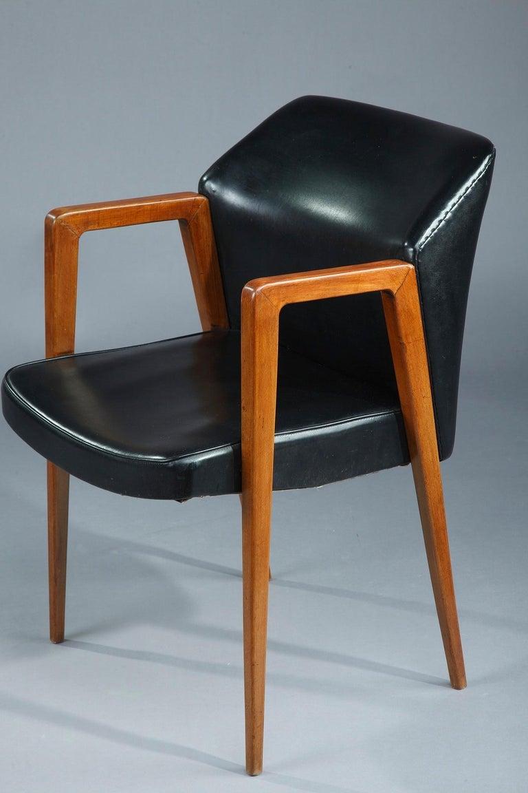 Scandinavian Modern Scandinavian Armchair by Arne Vodder for Sibast, 1950 For Sale