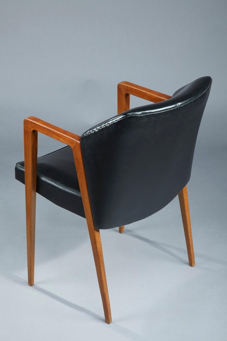 Scandinavian Armchair by Arne Vodder for Sibast, 1950 In Good Condition For Sale In Paris, FR