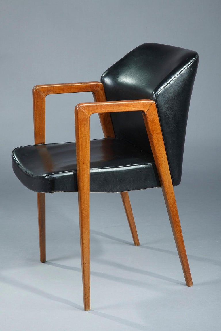 20th Century Scandinavian Armchair by Arne Vodder for Sibast, 1950 For Sale