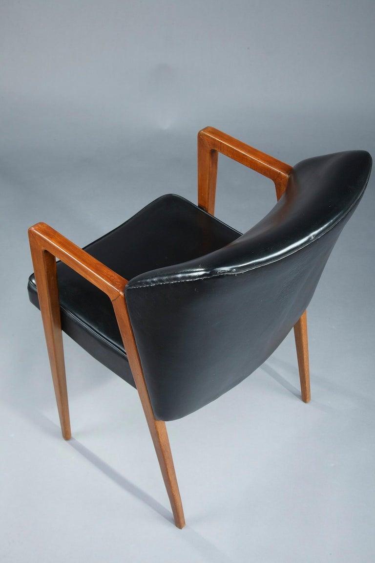 Scandinavian Armchair by Arne Vodder for Sibast, 1950 For Sale 1