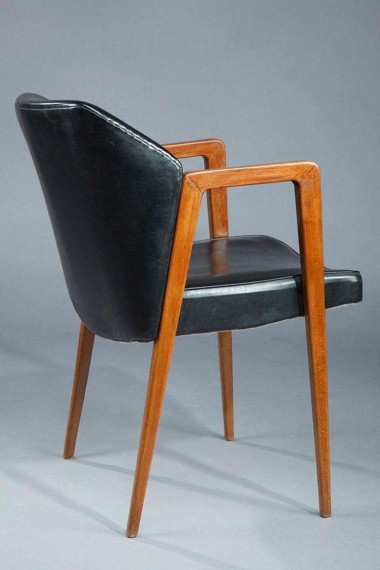 Scandinavian Armchair by Arne Vodder for Sibast, 1950 For Sale 2