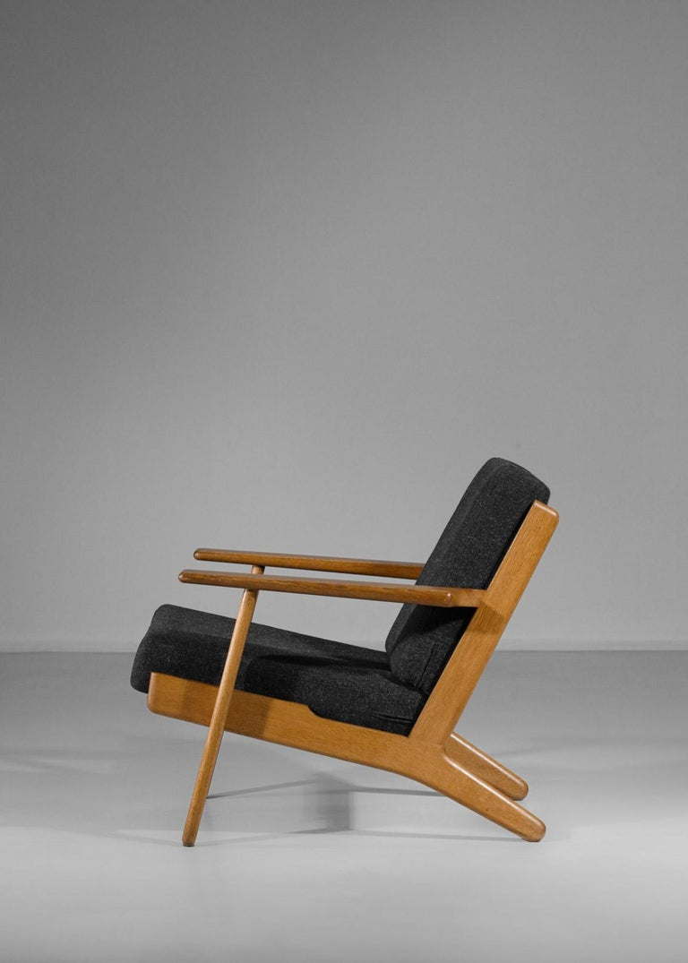 Mid-20th Century Scandinavian Armchair GE 290 by Hans Werner from 1953 for GETAMA Danish For Sale