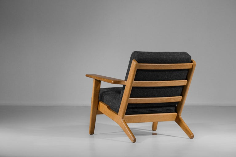 Scandinavian Armchair GE 290 by Hans Werner from 1953 for GETAMA Danish For Sale 1
