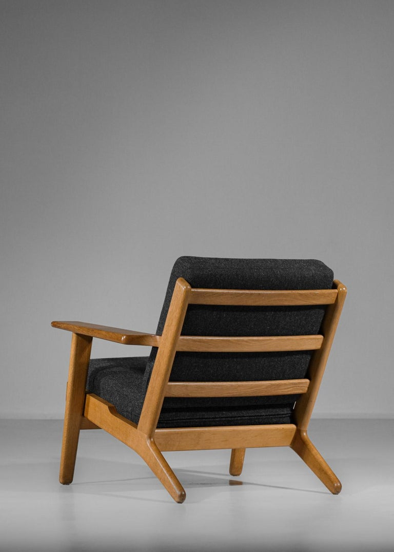 Scandinavian Armchair GE 290 by Hans Werner from 1953 for GETAMA Danish For Sale 2