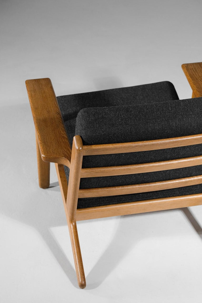 Scandinavian Armchair GE 290 by Hans Werner from 1953 for GETAMA Danish For Sale 3