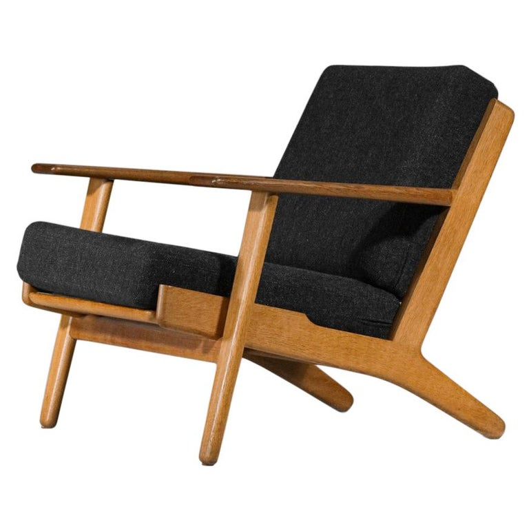 Scandinavian Armchair GE 290 by Hans Werner from 1953 for GETAMA Danish For Sale