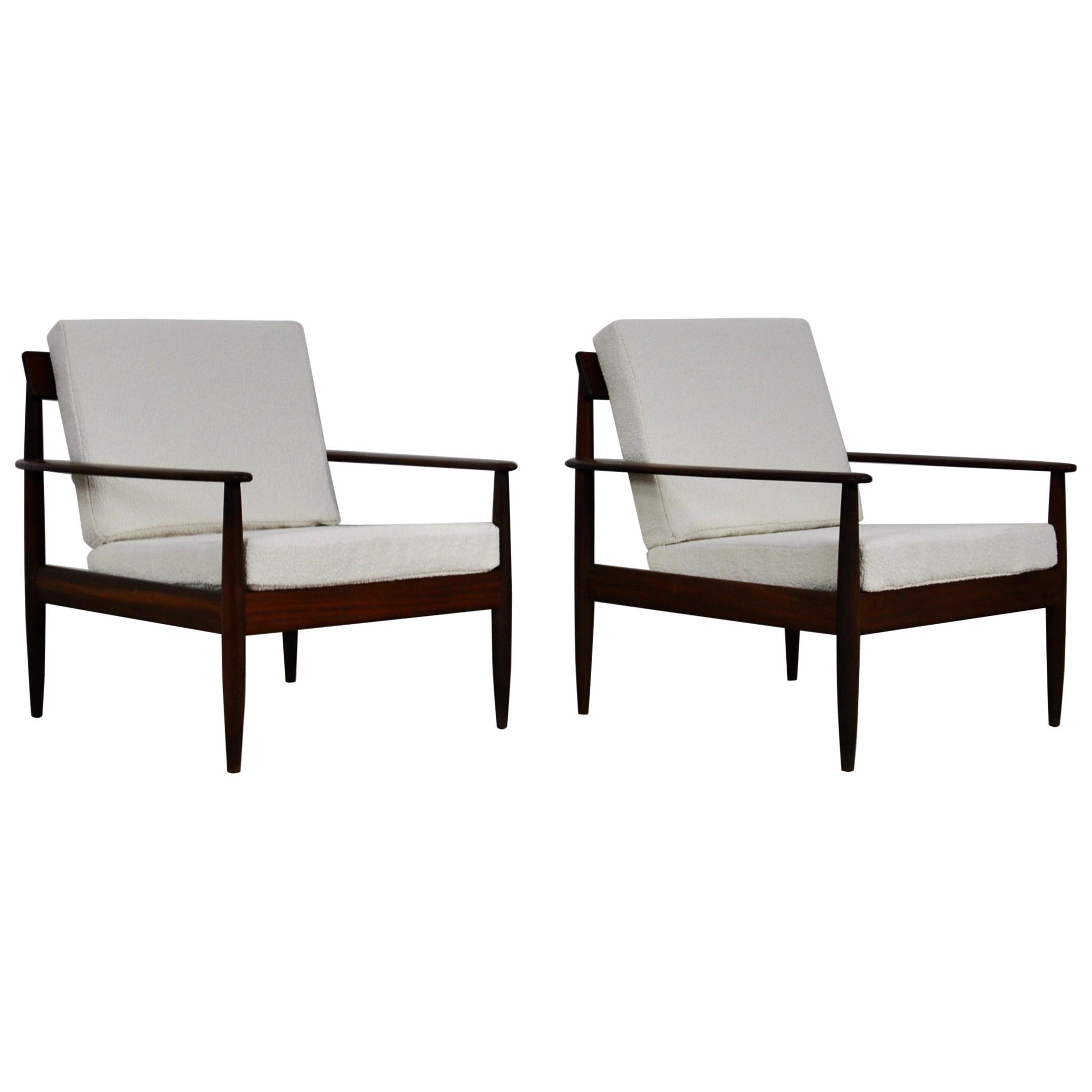 Scandinavian Armchairs, 1960s Set of 2