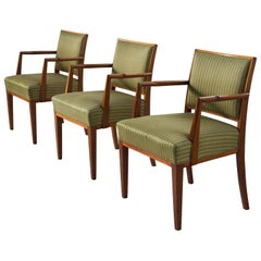 Scandinavian Armchairs in Teak, 1940s