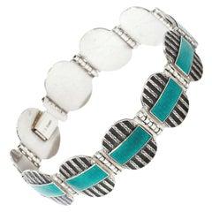 Scandinavian Art Deco 1930s Bracelet