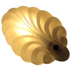 Scandinavian Art Deco Clam Shell Sconce, 1930s
