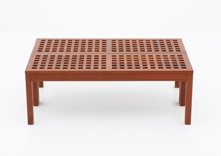 Scandinavian Benches in Teak by John Vedel-Rieper for Källemo, 1960s In Good Condition For Sale In Karlstad, SE