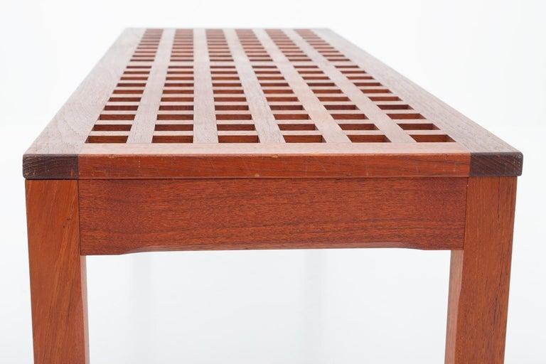 Scandinavian Benches in Teak by John Vedel-Rieper for Källemo, 1960s For Sale 2