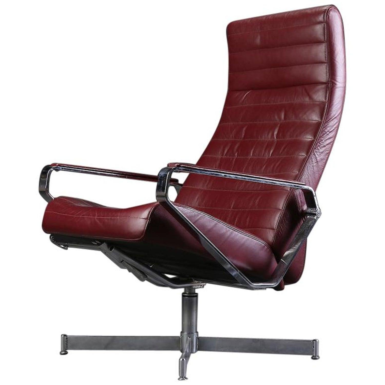 Scandinavian Bolia House Design Vitesse Office Swivel Leather Chair At 1stdibs