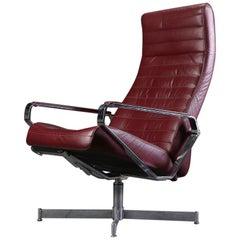 Scandinavian Bolia House Design Vitesse Office Swivel Leather Chair