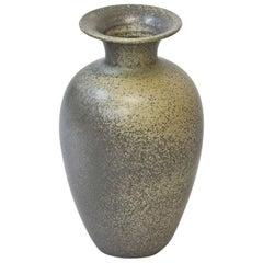 Scandinavian Ceramic Floor Vase in Stoneware, Sweden, 1960s