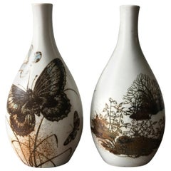 Scandinavian Ceramic Vases by Nils Thorsson for Royal Copenaghen, 1960s