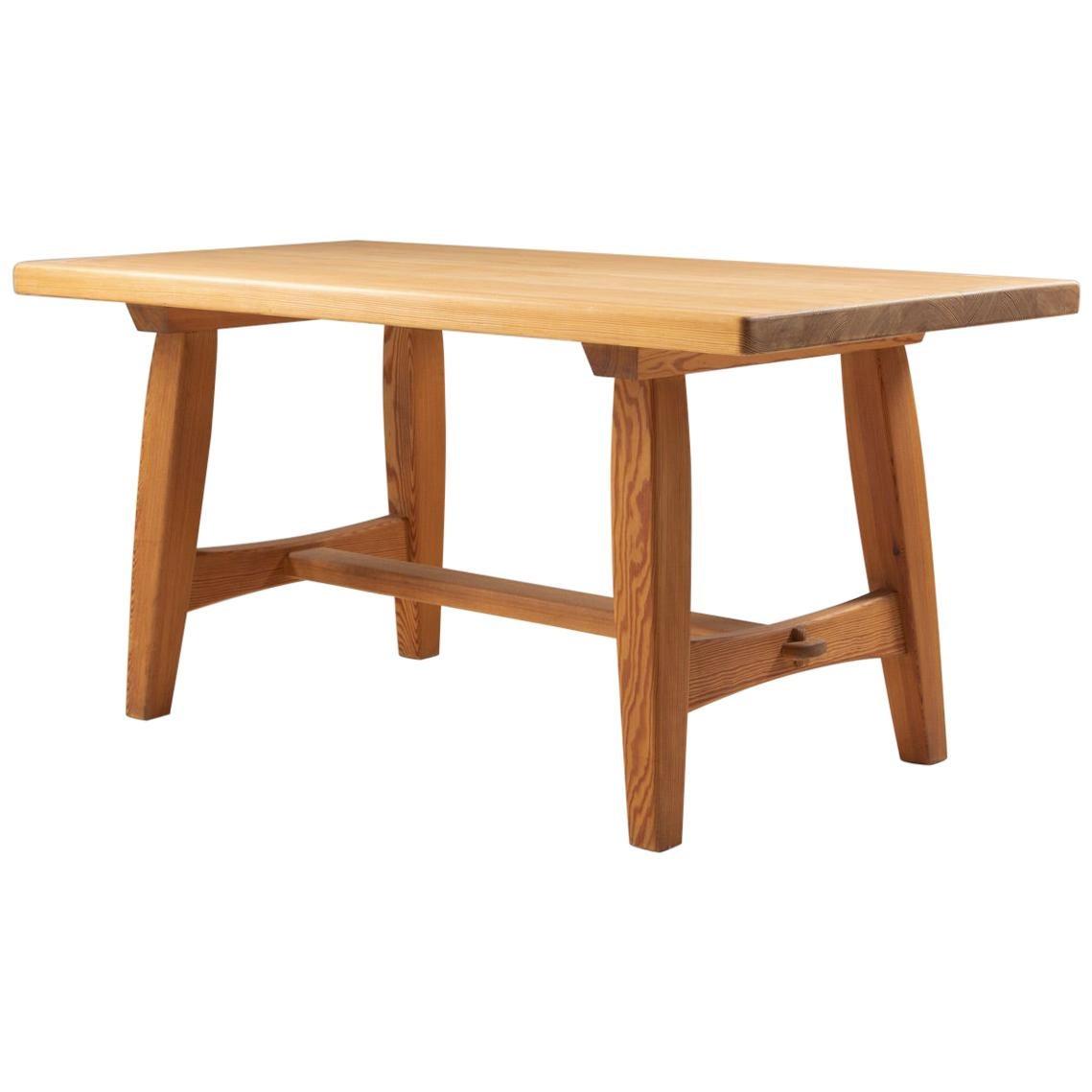 Scandinavian Coffee Table in Pine by Krogenæs