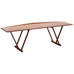 Scandinavian Coffee Table MK Craftsmanship, Teak, 1960s