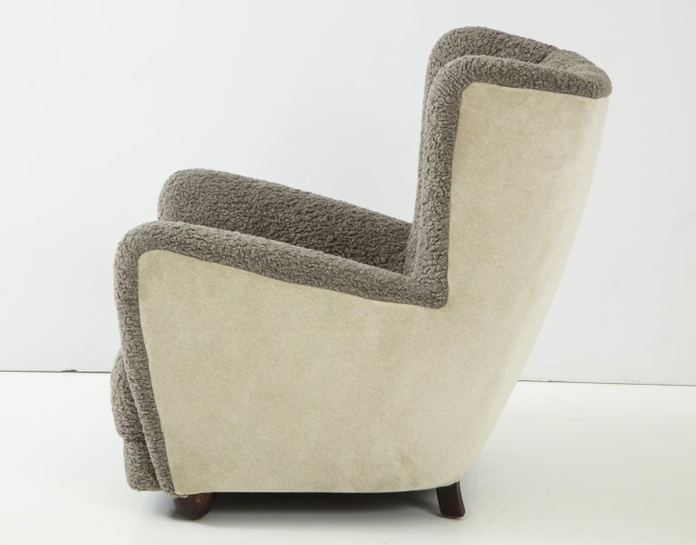 Scandinavian Deco Club Chair For Sale 1