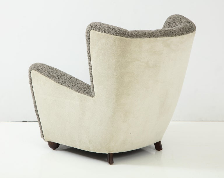 Scandinavian Deco Club Chair For Sale 2