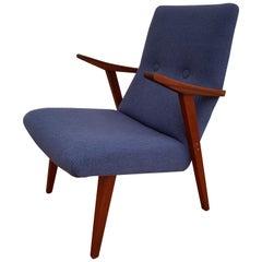 Scandinavian Design, Armchair, 1960s, Teakwood, Completely Restored
