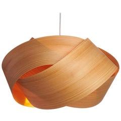 Scandinavian Design Cypress Wood Chandelier Pendant