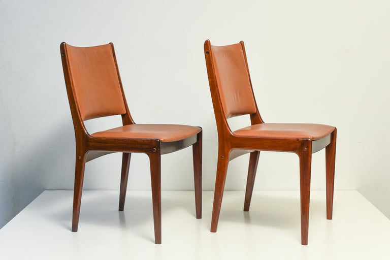 Danish Mid Century Scandinavian Dining Chair For Sale
