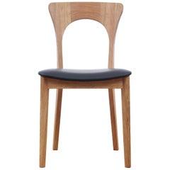 Scandinavian Dining Chair Model Peter by Niels Koefoed, New Edition