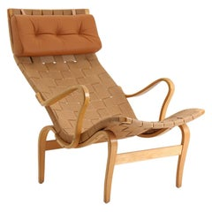"Scandinavian Easy Chair ""Pernilla 1"" by Bruno Mathsson"