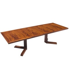 Scandinavian Extendable Rosewood Dining Table