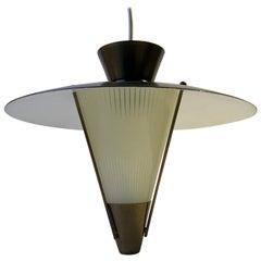 Scandinavian Functionalist, Ballerina Pendant Lamp, 1940s