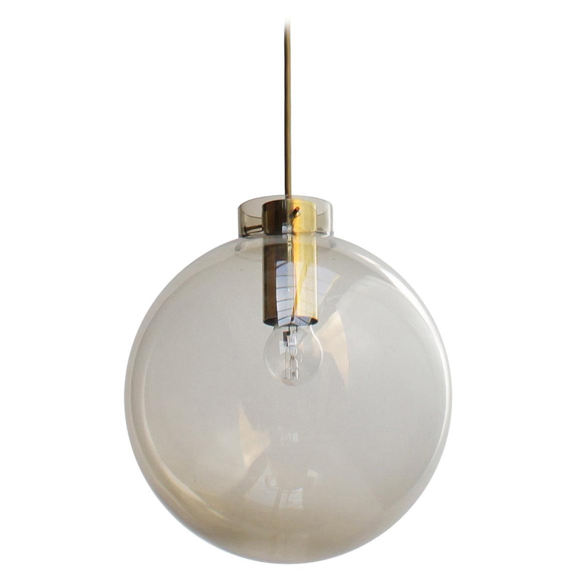 Scandinavian Glass Sphere Pendant by Jonas Hidle for Høvik Lys