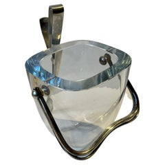 Scandinavian Ice Bucket by Olaf Gunnar Hjertzell and Strömbergshyttan, 1940s