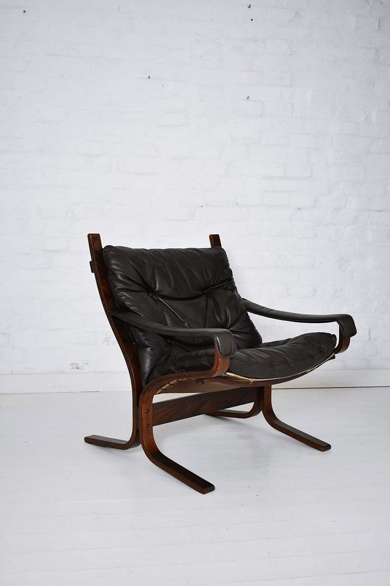 Scandinavian Ingmar Relling Siesta Armchair by Westnofa, Norway, 1970s 3