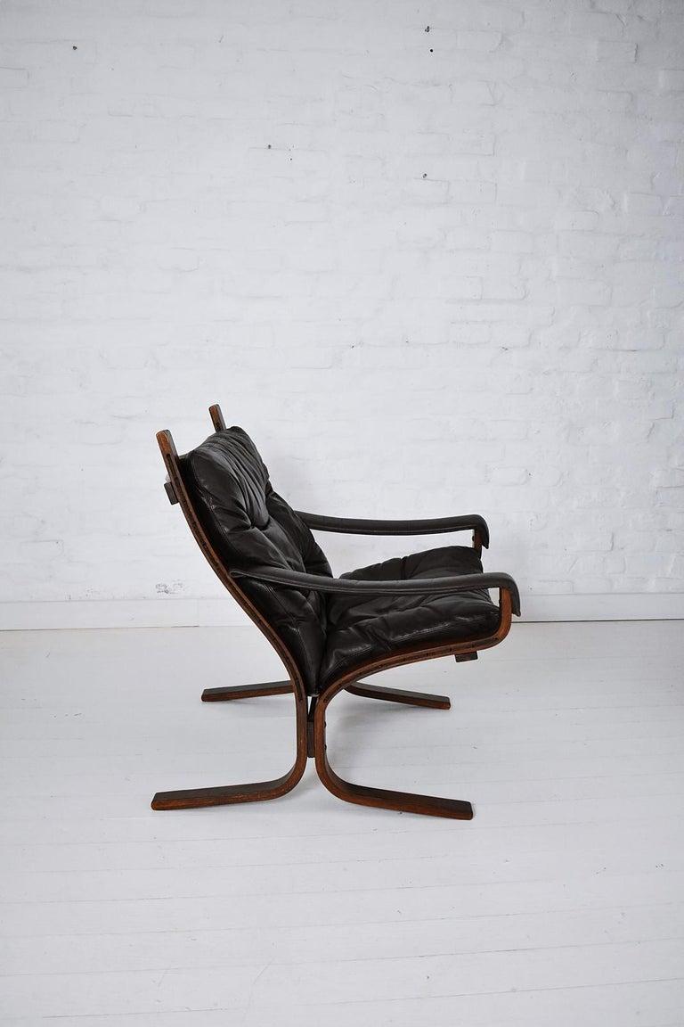 Scandinavian Modern Scandinavian Ingmar Relling Siesta Armchair by Westnofa, Norway, 1970s