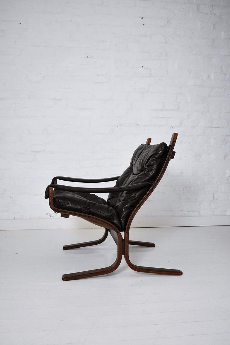 Bentwood Scandinavian Ingmar Relling Siesta Armchair by Westnofa, Norway, 1970s