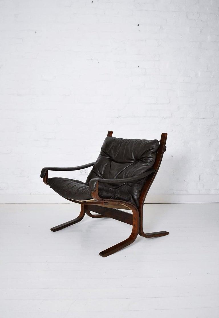 Scandinavian Ingmar Relling Siesta Armchair by Westnofa, Norway, 1970s 1