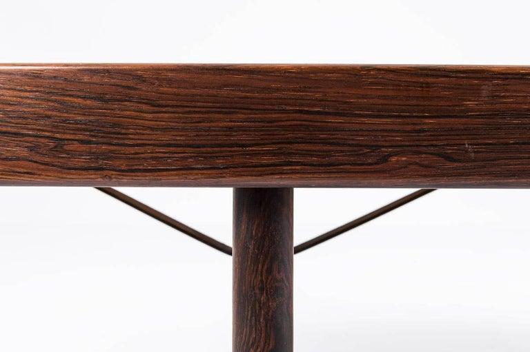Mid-Century Modern Scandinavian 'Krobo' Bench in Rosewood by Torbjørn Afdal for Mellemstrands For Sale