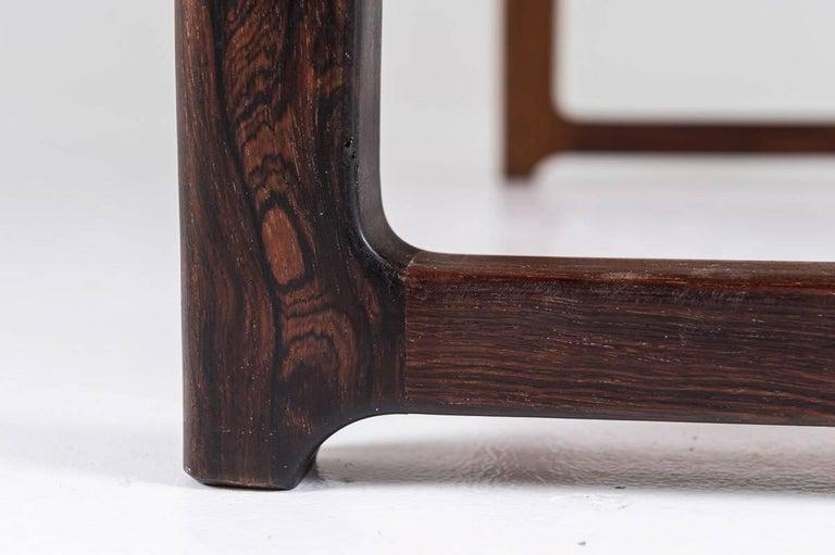 Scandinavian 'Krobo' Bench in Rosewood by Torbjørn Afdal for Mellemstrands In Excellent Condition For Sale In Karlstad, SE