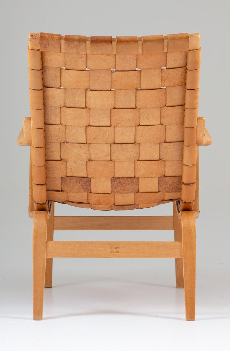 Scandinavian Leather Easy Chair